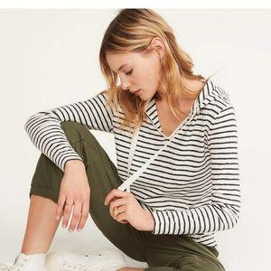 Lou & Grey Loft striped hoodie